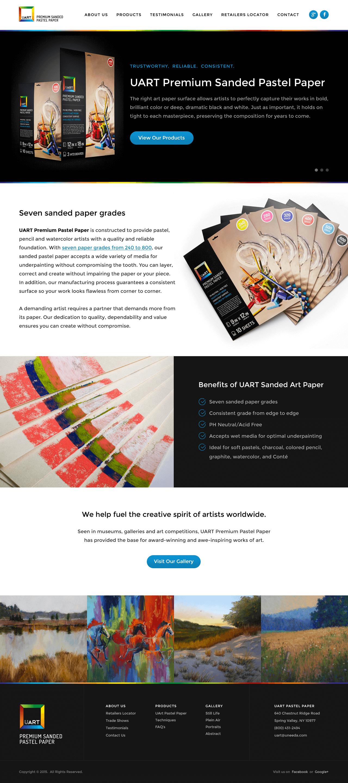 uArt — Homepage